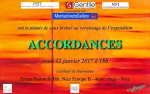 Accordances Art Exhibit Nice, France