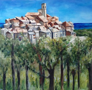 Completed Painting St. Paul de Vence