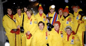 2001/2002 Torchbearer Reunion for 1980 Winter Olympic Games, Lake Placid, New York